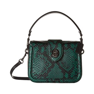COACH 蔻驰 Stamped Snakeskin Page Crossbody 女士手提斜挎包 主图