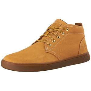 prime:Timberland 添柏岚 男式 Groveton Leather and Fabric 靴子 主图